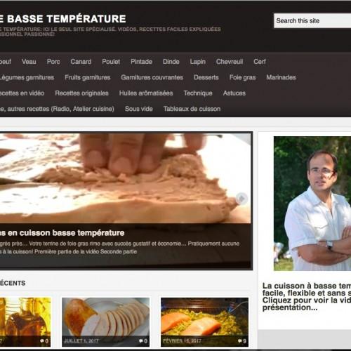 Cuisine Basse Temperature