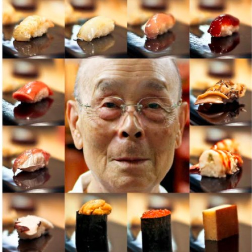 Jiro dreams of sushis