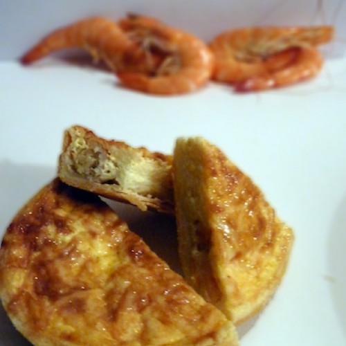 Quiche crevettes curry